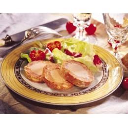 Cou de canard farci 30% de foie de canard (400 g.)