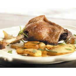 Confit 2 cuisses de canard du Périgord (765 g.)