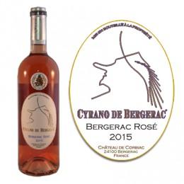 Bergerac Rosé AOC 2016 (bouteille de 75cl.)