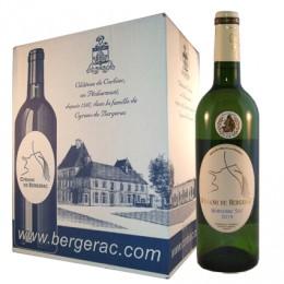 Bergerac Sec AOC 2016 (carton de 6 bouteilles)