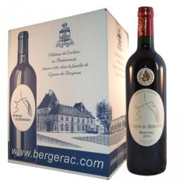 Bergerac AOC 2015 (carton de 6 bouteilles)