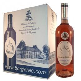 Bergerac Rosé AOC 2016 (carton de 6 bouteilles)